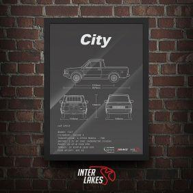 QUADRO FIAT CITY 1984