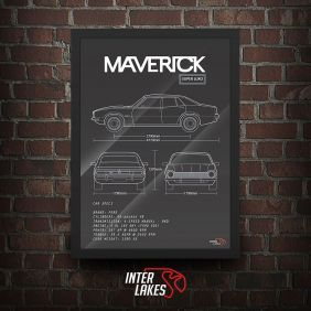 QUADRO FORD MAVERICK SL SEDAN