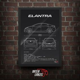 QUADRO HYUNDAI ELANTRA 2.0 GLS 2015