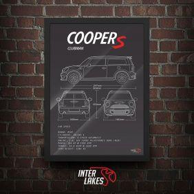 QUADRO MINI COOPER S CLUBMAN R55