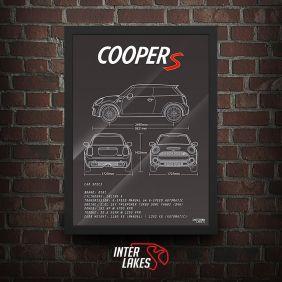 QUADRO/POSTER MINI COOPER S F56