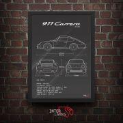 PORSCHE 911 CARRERA 993 3.6
