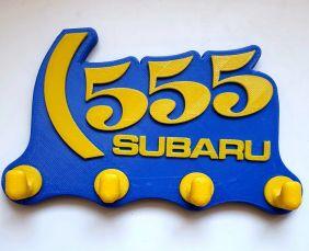 PORTA CHAVES SUBARU 555