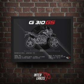 QUADRO/POSTER BMW G310 GS 2020