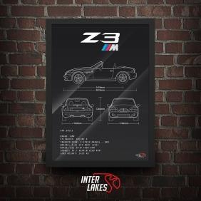 QUADRO/POSTER BMW Z3 M ROADSTER