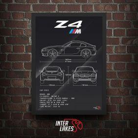 QUADRO/POSTER BMW Z4 M COUPÉ