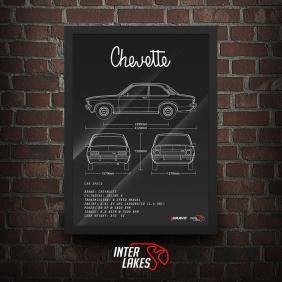 QUADRO/POSTER CHEVROLET CHEVETTE SL 75