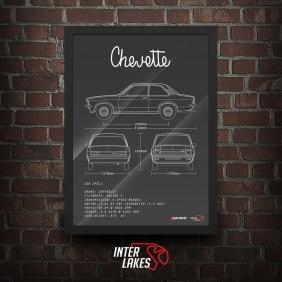 QUADRO/POSTER CHEVROLET CHEVETTE SL 76