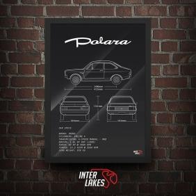 QUADRO/POSTER DODGE POLARA 1.8 1979