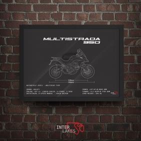 QUADRO/POSTER DUCATI MULTISTRADA 950