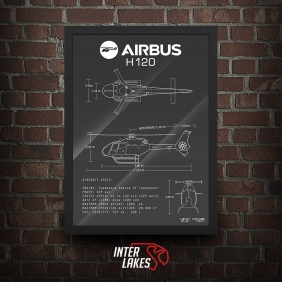 QUADRO/POSTER EUROCOPTER AIRBUS H120