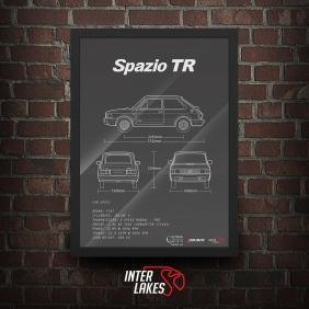QUADRO/POSTER FIAT 147 SPAZIO TR 1984