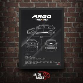 QUADRO/POSTER FIAT ARGO TREKKING 1.3 2018