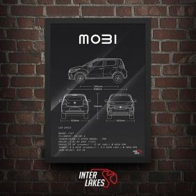 QUADRO/POSTER FIAT MOBI LIKE 1.0 2018