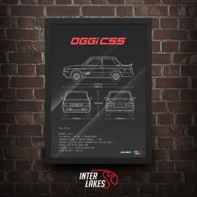 QUADRO/POSTER FIAT OGGI CSS