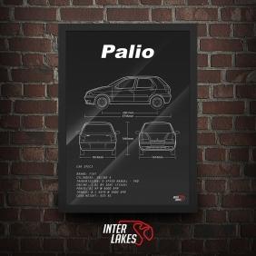 QUADRO/POSTER FIAT PALIO G1 1.0 4P