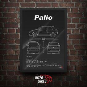QUADRO/POSTER FIAT PALIO G2 1.0 2P