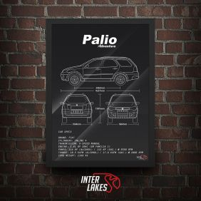 QUADRO/POSTER FIAT PALIO WEEKEND ADVENTURE G3