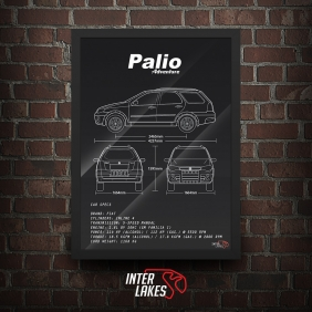 QUADRO/POSTER FIAT PALIO WEEKEND ADVENTURE G3