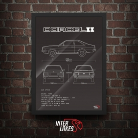 QUADRO/POSTER FORD CORCEL II