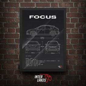 QUADRO/POSTER FORD FOCUS GHIA 2009 HATCH