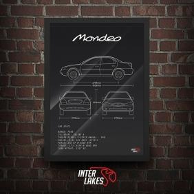 QUADRO/POSTER FORD MONDEO MK2 2.0