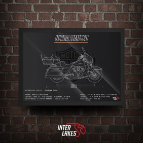 QUADRO/POSTER HARLEY-DAVIDSON ULTRA LIMITED 2013
