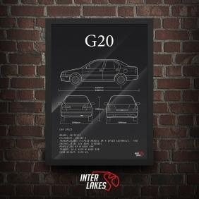 QUADRO/POSTER INFINITI G20 P10