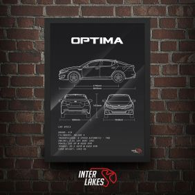 QUADRO/POSTER KIA OPTIMA EX 2.0 2015