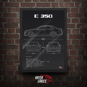 QUADRO/POSTER MERCEDES-BENZ E350 W212 AVANTGARDE
