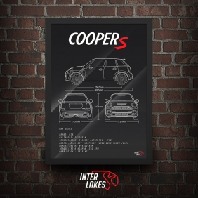 QUADRO/POSTER MINI COOPER S F55
