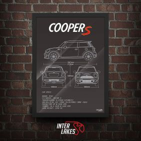 QUADRO/POSTER MINI COOPER S R56 N18