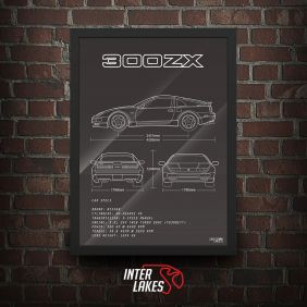 QUADRO/POSTER NISSAN 300ZX