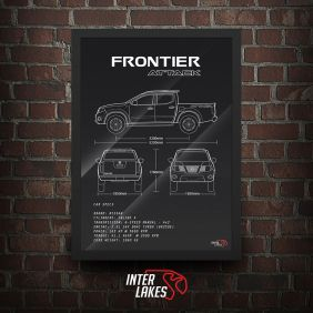 QUADRO/POSTER NISSAN FRONTIER ATTACK 4X2