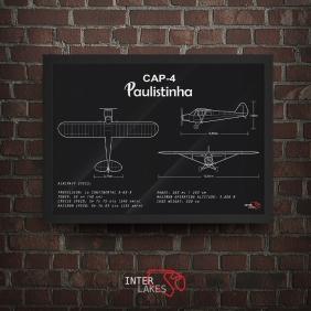 QUADRO/POSTER PAULISTINHA CAP-4