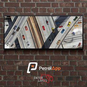 QUADRO/POSTER PETROL CITY - PETROLAPP
