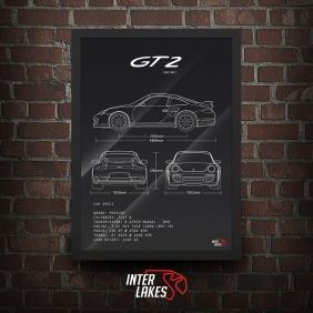 QUADRO/POSTER PORSCHE 911 GT2 997