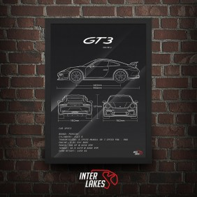 QUADRO/POSTER PORSCHE 911 GT3 991
