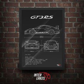 QUADRO/POSTER PORSCHE 911 GT3 RS