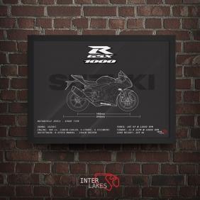 QUADRO/POSTER SUZUKI GSX-R1000 2014