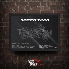 QUADRO/POSTER TRIUMPH SPEED TWIN 2020