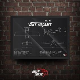 QUADRO/POSTER VAN'S AIRCRAFT RV-14