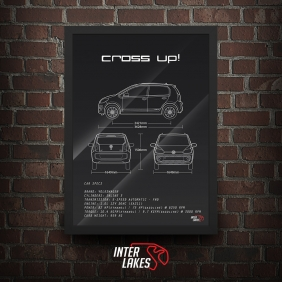 QUADRO/POSTER VOLKSWAGEN CROSS UP! IMOTION 2015
