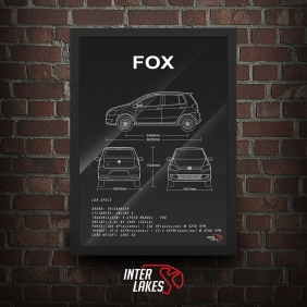 QUADRO/POSTER VOLKSWAGEN FOX G2 HIGHLINE 1.6 2014