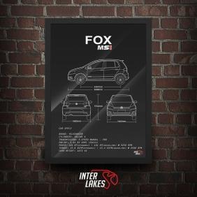 QUADRO/POSTER VOLKSWAGEN FOX G3 COMFORTLINE 1.6
