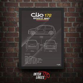 QUADRO RENAULT CLIO SPORT 172