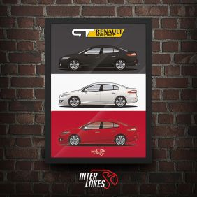 QUADRO/POSTER RENAULT FLUENCE GT TRIBUTE