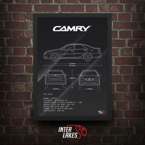 QUADRO TOYOTA CAMRY XLE 3.0 V6 2005