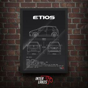 QUADRO TOYOTA ETIOS 1.5 XLS