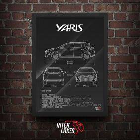 QUADRO TOYOTA YARIS HATCH 1.5 XLS